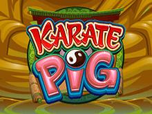 Играть в игровой автомат Karate Pig онлайн на деньги